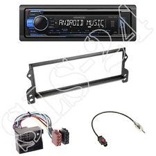 Kenwood kdc-120ub Radio + mini r50 r52 r53 1-din panneau noir + Adaptateur ISO