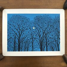 Dan McCarthy / Original Screen Print / Glow In The Dark Ink / The Woods / 2007