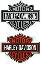 XMAS SALE 2 HARLEY-DAVIDSON STICKERS 21 x 16.5cm