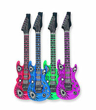 "INFLATABLE GUITAR 40"" (101.6cms) Party/Disco/Karaoke x 1 - 95160"