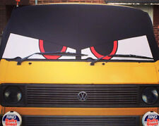 VW Type 25 original Bus Eyes screen cover / wrap Buseyes blind Angry eyes Black