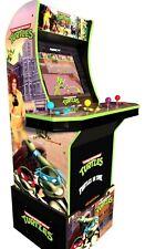 Arcade 1up TMNT Teenage Mutant Ninja Turtles 4ft Video Game W/Riser NIB  2in1