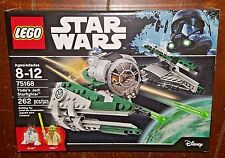 Brand New Lego Star Wars 262pc YODA'S JEDI STARFIGHTER Building Toy! Item #75168