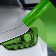 A4 Green Car Headlight Fog Light Tint Film  FLG041