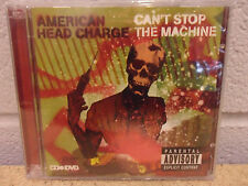 American Head Charge - Can't Stop the Machine   CD + DVD new and sealed