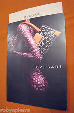 Invito ai negozi BULGARI collezione accessori LOGOMANIA pieghevole Bvlgari