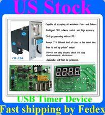 Multi Coin Acceptor USB timer control board cafe kiosk