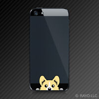 (2x) Corgi Cell Phone Sticker Die Cut Decal Self Adhesive Vinyl  pembroke welsh