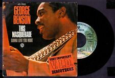 "GEORGE BENSON - This Masquerade / Gonna Love You More - SPAIN SG 7"" WB 1977"