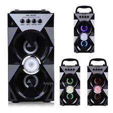 Outdoor Portable Wireless Bluetooth Speaker Stereo Super Bass w/ USB/TF/FM Radio