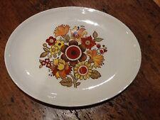 Vintage Myott Ironstone Ware Festival Serving Platter Large Plate Retro 1970s