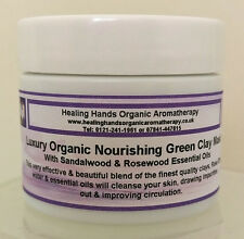 Natural Organic Luxury Hand Blended 'Sun Damaged Skin' Clay Face Mask -65g