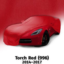 2014 - 2017 Corvette Torch Red Color Match Car Cover. Indoor Use Only!