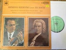 CBS 51068 Bach Sonata No. 1 / Partita No. 1 / Szeryng
