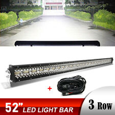 """52Inch 3900W Combo Beam Straight LED Light Bar Lamp OFFROAD For Ford SUV 4WD 50"""""""