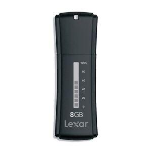 Lexar JumpDrive Secure II Plus 8GB 8G USB Flash Drive LJDSEP8GASBNA