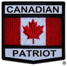 Canadian Patriot Crest Patch - AVAILABLE NOW