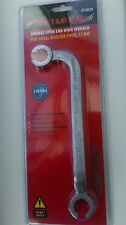 Neilsen Double Open End Ring Wrench Spanner for Diesel Injector Pipes - 17mm