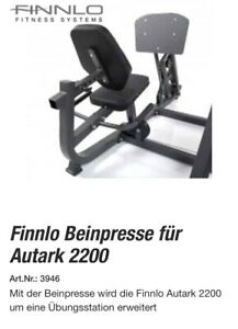 finnlo Beinpresse 2200 Artikel-Nr. 3946