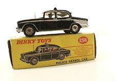 Dinky Toys GB N°256 Humber Hawk Police Car in Box