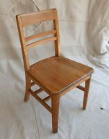 Vintage Classic Maple Library Chair Original Finish Mid-1950s (2 available)