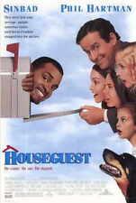 HOUSEGUEST Movie POSTER 27x40 Sinbad Phil Hartman Jeffrey Jones Kim Greist Stan