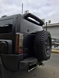 Fits: Hummer H3 2005-2010 Custom Rear Spoiler  MADE IN THE USA
