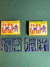 Lot Of 2 Ultraman Original Monster Soft Vinyl Figures Baltan Red King Ultra Man