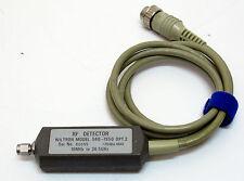 Wiltron 560-7S50 RF Detector 10 MHz - 26.5 GHz sensore reti 56100A 562
