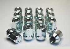 16 x M12 x 1.25, 17mm Hex Alloy Wheel Nuts (Zinc)