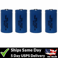 4 Pack ICR18350 Rechargeable LiMn Batteries High Drain 3.7V 700mAh Battery