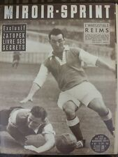 15/09/1952 Miroir Sprint French Sports Newspaper, Content To Include:  Football: