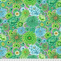 Enchanted -Green Kaffe Fassett /Kaffe Fassett collect cotton Quilting Fabric BTY