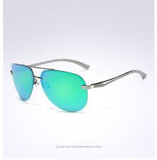 Hot Men's HD Polarized Sunglasses Men Driving Aviator Sunglasses Glasses Eyewear