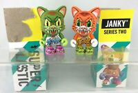 "Superplastic 3/"" Vinyl Janky Series 2 James Groman Smiley Don Green Kidrobot Art"