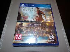 Assassin's creed origen + odisea Doble Pack (PS4) ** nuevo Y Sellado **