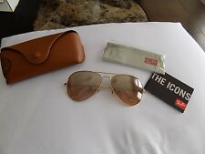 Ray-Ban RB3025 001/3E 58 Aviator Sunglasses