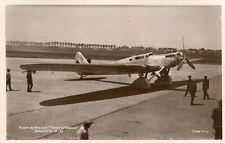 Aviation Avion de Record Trait d'Union DEWOITINE D 33 tout métallique