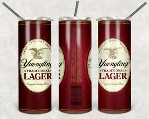 20 oz Stainless Steel Yuengling Beer