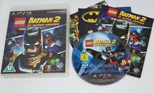 PS3 Lego Batman 2 DC Super Heroes ~ PS3 Complete FAST FREE UK POST