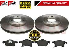 FOR VAUXHALL ZAFIRA MK1 A 2 FRONT BRAKE DISCS AND PADS PAD SET 1998-2004