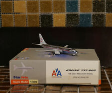 SCHUCO STAR JETS American Airlines Boeing B737-800 Retro Colors 1/500 Airplane