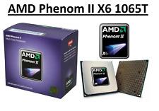 AMD Phenom II X6 1065T 6 Core Processor 2.9 - 3.4 GHz, Socket AM3, 95W CPU