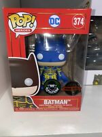 Funko pop! Batman #374 Blue Special Edition - DC - Popcultcha + Pop Protector