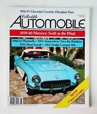 Collectible Automobile, 6/91, Chevrolet Corvette, Stout Scarab, Dodge Coronet500