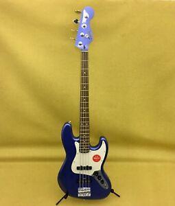 037-0400-573 Squier By Fender Contemporary Jazz Bass® Ocean Blue Metallic