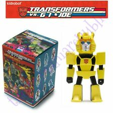 Kidrobot Transformers vs GI Joe Vinyl Mini Series Figure BumbleBee 3/48 Hasbro