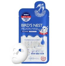 Mediheal Bird's Nest Protain Mask Korean Beauty Skin Healthy Moisturising 10 PCS