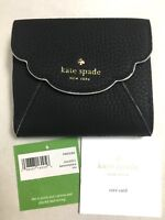 NWT Kate Spade Leewood Place Tavy Classic Pebbled Leather Wallet Coin PWRU5384
