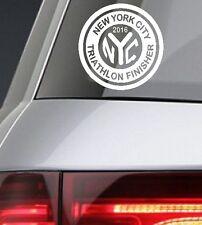 2018 any year New York City Nyc Triathlon Decal iPad,Lugage,Suit case,CarWindow